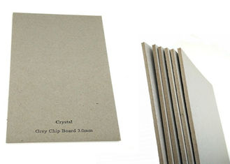 Book cover Folding Resistance 3mm Gray Chip Board Paper Hard Stiffness