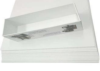 Anti-Curl Paperboard Grey Back Duplex Board for package box printing