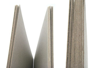 Environmently Mixed Pulp Uncoated Grey Cardboard for book cover